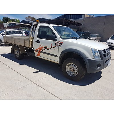 7/2007 Holden Rodeo LX RA MY07 C/chas White 3.6L