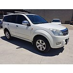 12/2009 Great Wall X240 (4x4) CC6461KY 4d Wagon White 2.4L