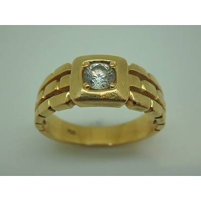 18ct Yellow Gold Ring