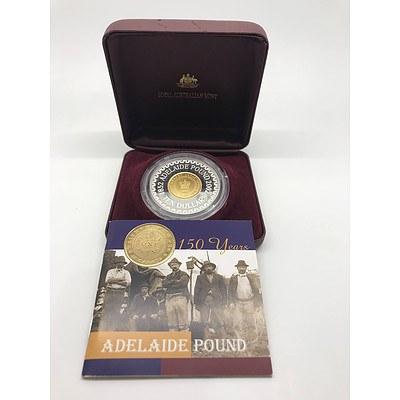 2002 Adelaide Pound Bi-Metal Commemorative Pound