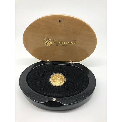 2011 Year of the Rabbit 1/4 Ounce Pure Gold Proof Coin