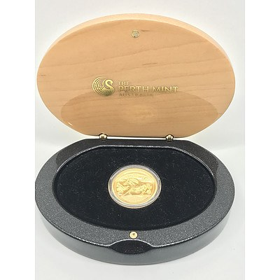 2014 Year of the Horse 1 Ounce Pure Gold Proof Coin