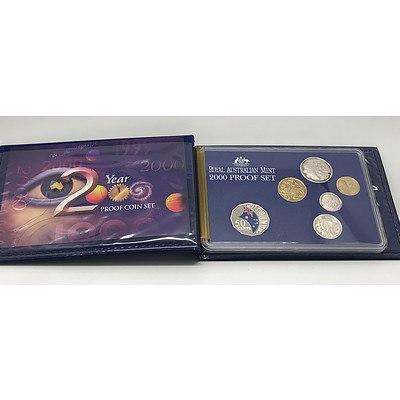 2000 Proof Coin Set in Original Box