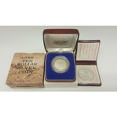 Assorted Silver Commemorative Proof Coins