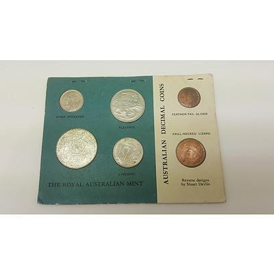 Scarce 1966 Uncirculated Coin Set