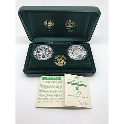 The Sydney 2000 Olympic Coin Collection