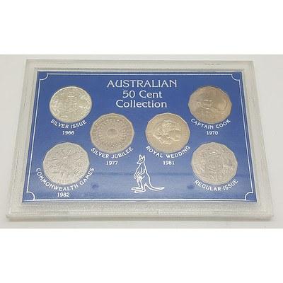 Australian 50 Cent Collection