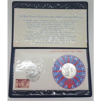 1974 Official Matthew Flinders Bicentenary Medallic Commemorative Coin