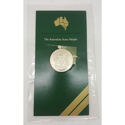 1976 Commemorative Sterling Silver Proof Coin - Victoria