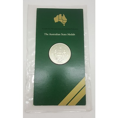 1976 Commemorative Sterling Silver Proof Coin - South Australia