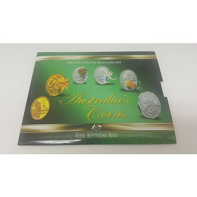 2004 Six Coin Uncirculated Set