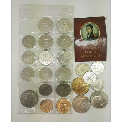 Assorted Australian Commemorative Coins
