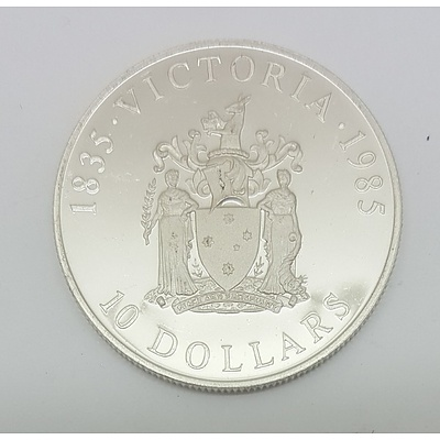 Sterling Silver Australian State Series $10 Coin
