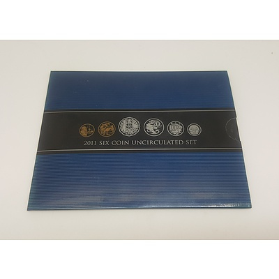2011 Six Coin Uncirculated Set