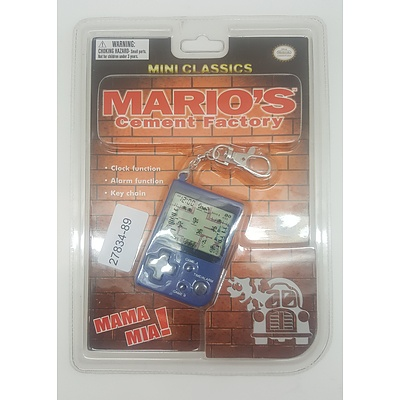 Nintendo Mini Classic - Marios Cement Factory