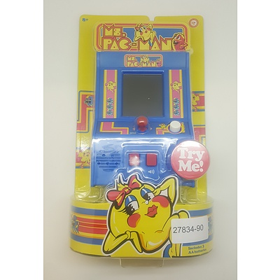 Mini Arcade Table Top Game - Ms. Pac-Man