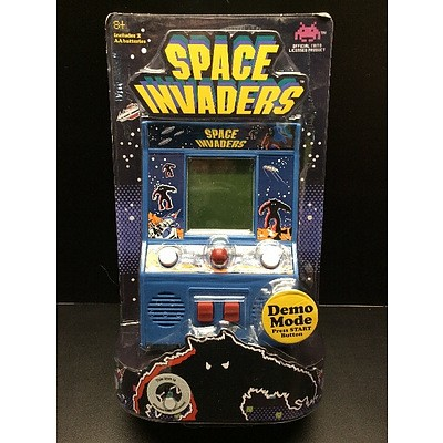Mini Arcade Table Top Game - Space Invaders