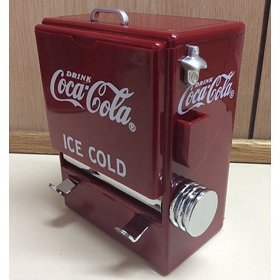 Collectable Coca Cola Toothpick dispenser