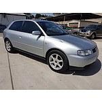 5/1997 Audi A3 1.6  3d Hatchback Silver 1.6L