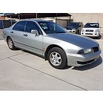 5/2002 Mitsubishi Magna Advance TJ 4d Sedan Silver 3.5L