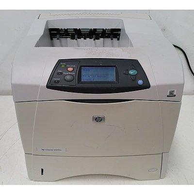 HP LaserJet 4200n Black & White Laser Printer