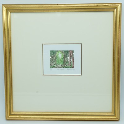 Stephen Whittle (1953-) Highland Glen and The Avenue Artist Proof Colour Engravings