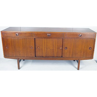 Retro 1960's Lowline Teak Sideboard