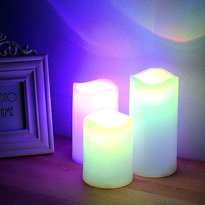 Colour Change LED Candles - Lot of 31
