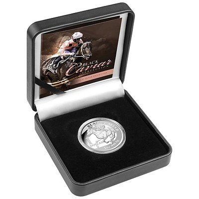 Australia: Black Caviar 2013 Silver PROOF Coin