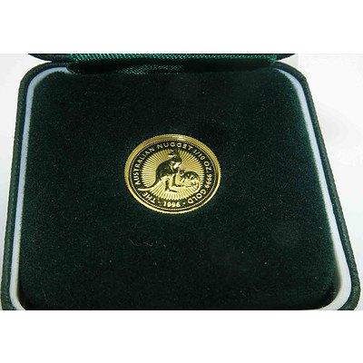 Australia Gold Nugget Coin 1996