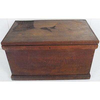 Antique Cedar Blanket Box