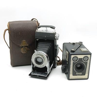 Brownie Six-20 Camera and 620 Kodak Film Camera