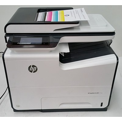 HP PageWide Pro MFP 577dw Colour Multi-Function Printer