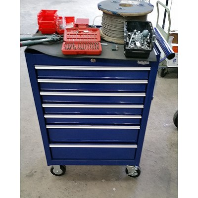 7 Drawer Tool Chest & Assorted Tools