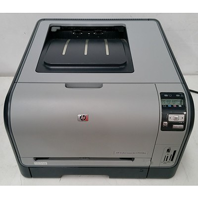 HP Color LaserJet CP1518ni Colour Laser Printer w/ Six Brand New Toner Cartridges