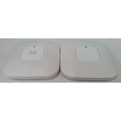 Cisco Aironet 802.11n Dual Band Access Point - Lot of 11