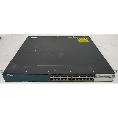Cisco Catalyst 3560-X Series PoE+ 24-Port Gigabit Managed Switch