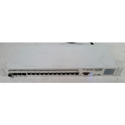 MikroTik CCR1036-12G-4S Cloud Core Router w/ 12 x Gigabit Ports - Lot of Two