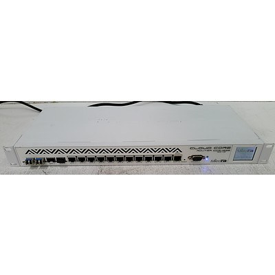 MikroTik CCR1036-12G-4S Cloud Core Router w/ 12 x Gigabit Ports - Lot of Three