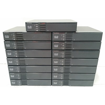 Cisco 860VAE Series Integrated Services Router - Lot of 15