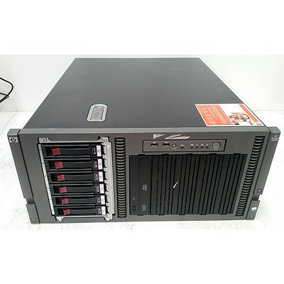 HP ProLiant ML350 G5 Dual Quad-Core Xeon (E5310) 1.60GHz Server