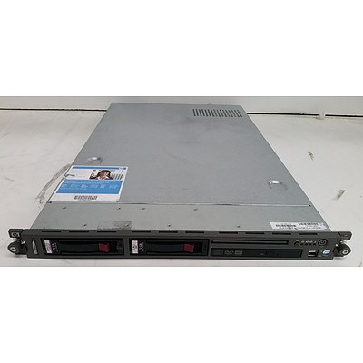 HP ProLiant DL140 G3 Dual-Core Xeon (5110) 1.60GHz 1 RU Server