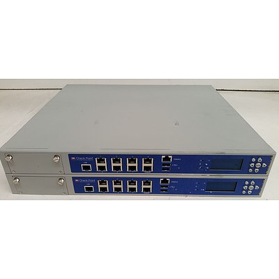 CheckPoint T-180 Firewall Appliance - Lot of Two
