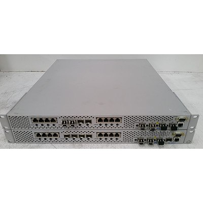 Nortel AS-3408-E Application Switch - Lot of Two