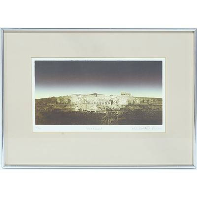 Michael Richecour (b. 1946) Fort Regent Limited Edition Etching