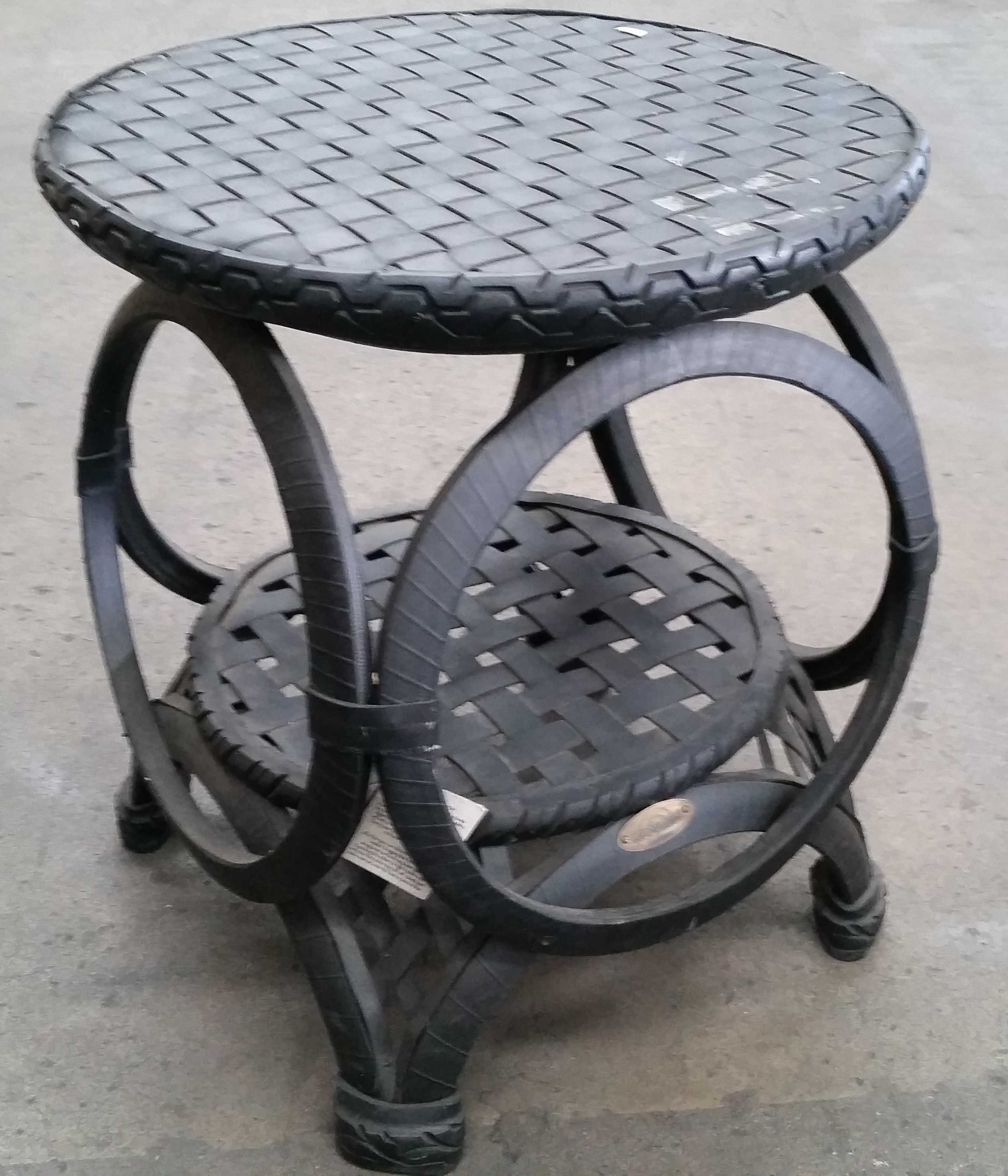 Retyred furniture outdoor table lot 1021760 allbids