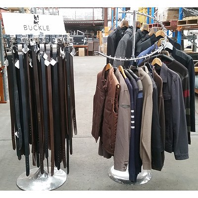Mens Jackets Jumpers & Belts - RRP Over $1400