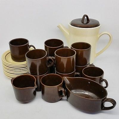 New Zealand Stoneware Tea Service