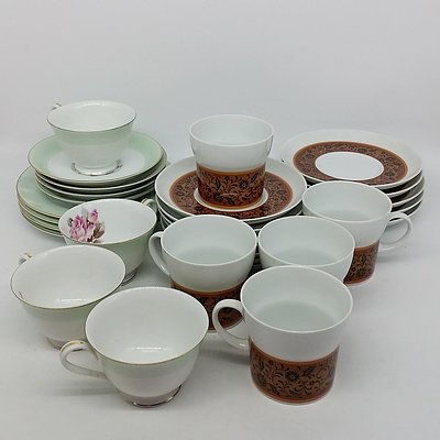 Various Japanese China Set Including Noritake and R.C