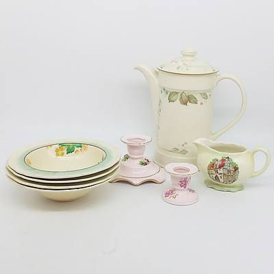 Collection of English China Including Royal Doulton, Royal Albert, Coalport and more